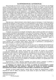 Da heterodisciplina a autodisciplina - Drb-assessoria.com.br
