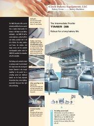 Flyer TIMER 3B engl. - Cinch Bakery Equipment