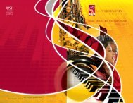 Music Minors and Elective Courses 2009 - USC Student Affairs ...