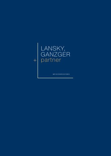 LGP Folder Deutsch - Lansky Ganzger & Partner
