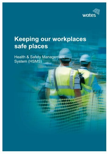 To download our Health and Safety Management System ... - Wates
