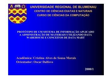 apresentação - Projeto Pesquisa
