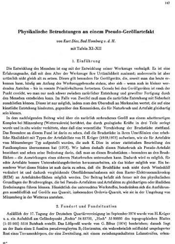 Physikalische Betrachtungen an einem Pseudo ... - quartaer.eu
