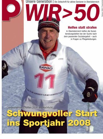 Schwungvoller Start ins Sportjahr 2008 - Pensionistenverband ...