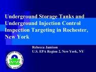 Underground Storage Tanks and Underground Injection ... - NEIWPCC