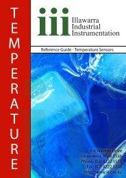 Temperature Sensors - Illawarra Industrial Instrumentation