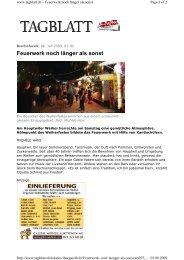Weiherfest 2009 - mgbbh.ch