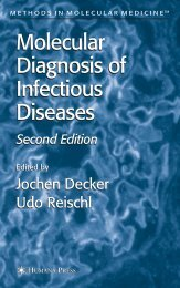 Molecular Diagnosis of Infectious Diseases Molecular Diagnosis of ...
