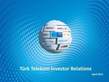 Türk Telekom Investor Relations