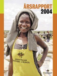 ÅRSRAPPORT 2004 - Flyktninghjelpen