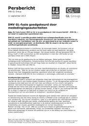 Persbericht (NL) - Dnv