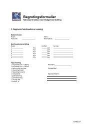 Download het begrotingsformulier - Nibud