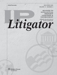 Proving Patent Damages - Analysis Group