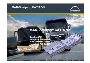 MAN- Startpart CATIA V5 - MAN Truck & Bus