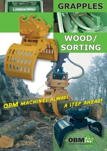 WOOD/ SORTING GRAPPLES Techn - OBMtec BV