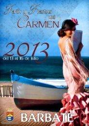Descargar Libreto de Feria y Fiestas del Carmen 2013