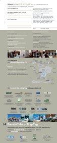 14. Baustoff-Recycling-Tag - Qualitätssicherungssystem Recycling ... - Seite 2