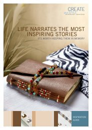 LIFE NARRATES THE MOST INSPIRING STORIES - Create Your Style