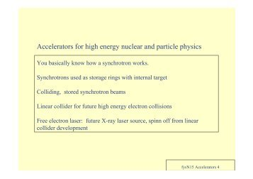 Accelerate - Particle Physics