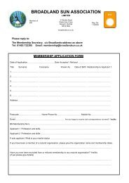 Membership Application Form 2013 - Broadlands Naturist Club