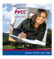 Annual Report 2007-08 - Piedmont Virginia Community College