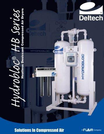(Hydrobloc HB Series Heatless Dryer). - Automatisation Pneumac Inc.