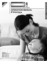 OPERATION MANUAL - Daikin AC