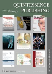 Quintessence Catalogue 2011 - Quintessenz Verlag, Berlin