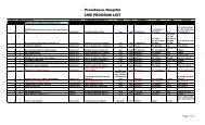 Website Updated CME Program List 2013