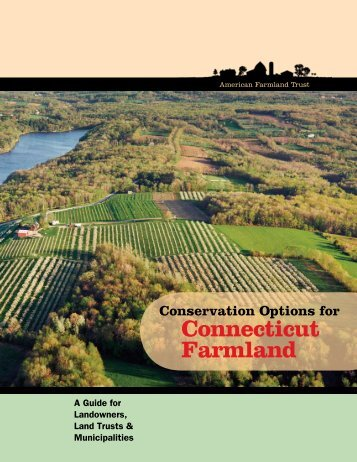 Conservation Options for Connecticut Farmland - American ...