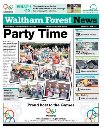 Issue 42: Party Time - Waltham Forest Council