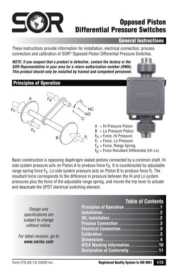 101/121 Differential Pressure Switches (Form GI506) - SOR Inc. on well pressure switch diagram, pressure switch schematic diagram, pressure switch lighting, square d pressure switch diagram, pressure switch cover, pressure vacuum breaker diagram, pressure switch plug, pressure switch regulator, pressure switch circuit diagram, pressure switch spec sheet, pressure release switch, pressure control switch, pressure switch parts diagram, pressure switch installation, pressure switch open with inducer on, water pressure switch diagram, compressor pressure switch diagram, pressure switch starter, pressure tank installation diagram, pressure switch water pump,