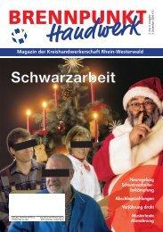 Schwarzarbeit - Kreishandwerkerschaft Rhein-Westerwald