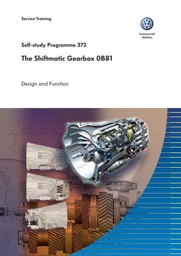 SSP 372 - The Shiftmatic Gearbox 0B81 - Volkspage