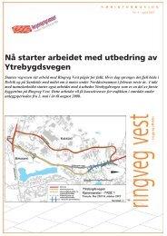 Nå starter arbeidet med utbedring av ... - Statens vegvesen