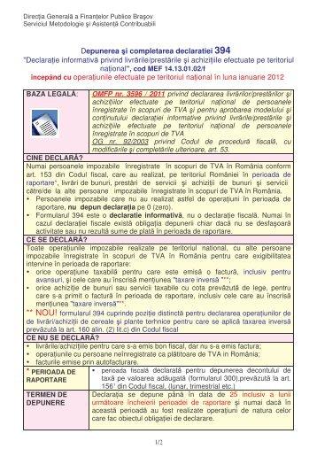 Word Pro - D394 2012.lwp - Finante Publice Brasov