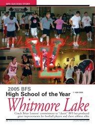 Bigger,Faster,Stronger - Whitmore Lake Public Schools