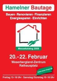 Hamelner Bautage 20.- 22. Februar - Rainer Timpe GmbH