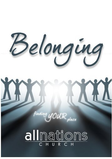 Belonging Book - All Nations Church - World Map Selection Page