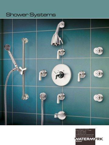 Shower Systems Catalog - Watermark Designs