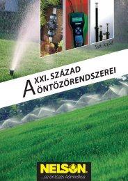 A XXI. század Öntözőrendszerei (szerző: Dr. Tóth Árpád)