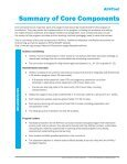 Summary of Core Components - ETR Associates - Page 3