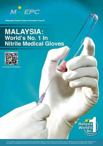 Flyers - Nitrile Medical Gloves - Mrepc.com
