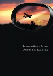 Code of Business Ethics - Marshall Group