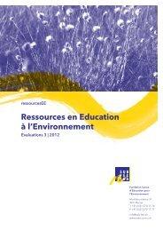 3/2012 - Education à l'environnement en Suisse