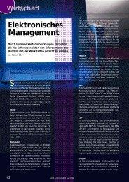 Elektronisches Management