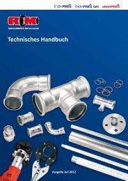 Technisches Handbuch - Raccorderie Metalliche S.p.A.