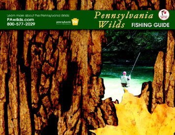 Pennsylvania Wilds Fishing Map - Tioga County Visitors Bureau