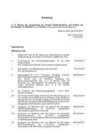 Beschlussvorlage - Stadt Radevormwald