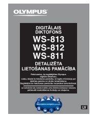 tikai modelim WS-813 - Olympus